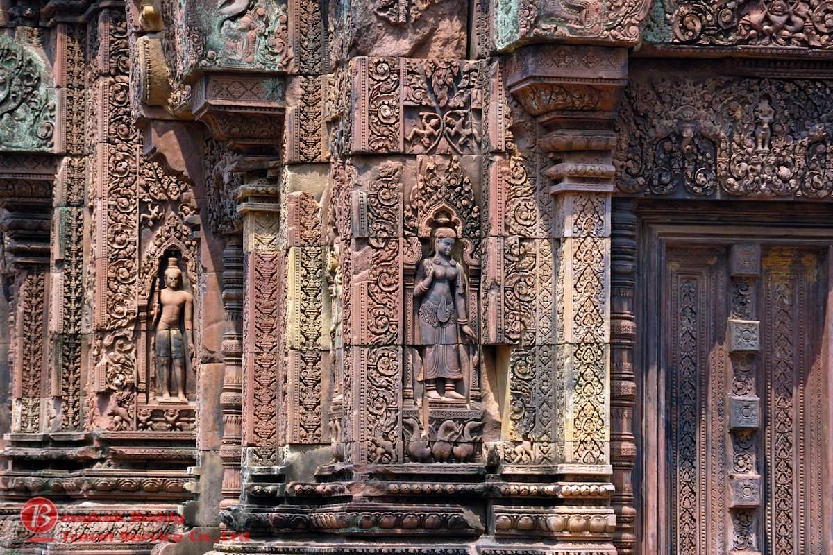 Angkor Wat Exterior Walls